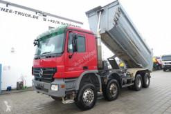 Vrachtwagen Mercedes Actros 4141 8x6 4 Achs Muldenkipper Kupplung, 1. Hand tweedehands kipper