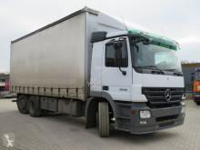 Camion savoyarde Mercedes Actros 2536 L 6x2 Pritsche Plane Stapleraufnahme