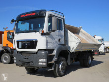 Camión MAN TGS TG-S 18.320 4x4 BB 2-Achs Allradkipper Schalter, Meiller volquete volquete trilateral usado