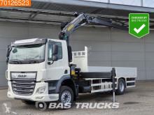 Vrachtwagen platte bak DAF CF