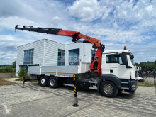Camión MAN TGS 26.360 caja abierta estándar usado