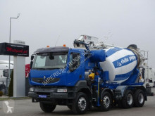 Ciężarówka pompa do betonu Renault KERAX 450 / MIXER + PUMP - PUTZMEISTER 24 M