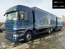 Scania beverage delivery box trailer truck R R 450 LB6X2*4/Lenk-Liftachse/Retarde