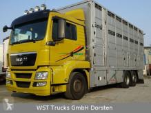 Camión MAN TGX TGX 26.440 LX Menke 3 Stock remolque ganadero usado
