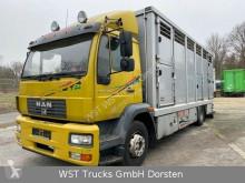 MAN szarvasmarha-szállító teherautó 15.220 Menke Einstock