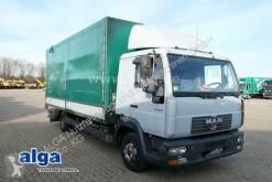 Camião caixa aberta com lona MAN 8.185 LLC (LE 180C), 1x Schlafliege, Bordwände