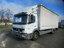 Mercedes tarp truck 1222 L Gardine, LBW, Klima, Handschalter