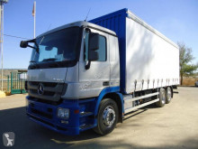 Mercedes Actros 2544 truck used tautliner
