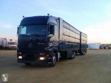 Teherautó Mercedes Actros 2548 használt állatszállító pótkocsi