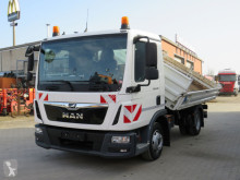 MAN TGL TG-L 8.190 4x2 BB 2-Achs Kipper 3te Sitz, Maul+Kugel truck used three-way side tipper