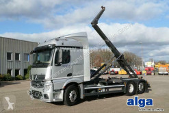Mercedes hook arm system truck Actros 2643 L Actros 6x2, Meiller RK20.67, Liftachse