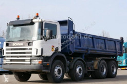 Scania two-way side tipper truck P 124P420