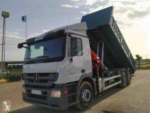 Lastbil Mercedes Actros 2532 flatbed brugt