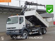 Vrachtwagen tweezijdige kipper Renault Kerax 320