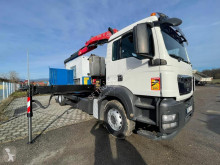 Camion MAN TGS 26.320 porte engins occasion