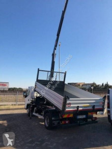 Mitsubishi Fuso Canter truck used three-way side tipper