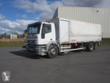 Camión caja abierta teleros Iveco Eurotech 190E30