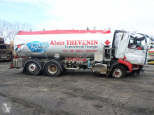 DAF CF 450 truck damaged oil/fuel tanker