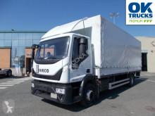 Iveco ponyvával felszerelt plató teherautó Eurocargo 160E28/P