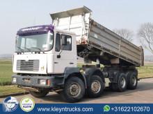 MAN three-way side tipper truck F2000