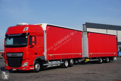Сцепка DAF 106 / 480 / SSC / ACC / E 6 / ZESTAW PRZEJAZDOWY + remorque rideaux coulissants шторный б/у