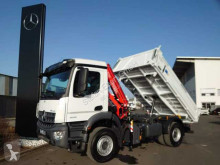 Ciężarówka Mercedes Arocs Arocs 1832 KK 4x2 Kipper+Kran Fassi F120+Funk wywrotka trójstronny wyładunek nowe