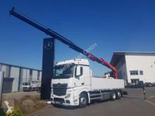 Mercedes platóoldalak plató teherautó Actros Actros 2745 L 6x2 Baustoffpritsche + Palfinger