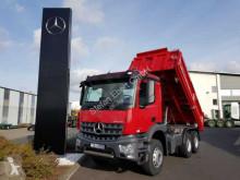 Camion benă trilaterala Mercedes Arocs 2646 K 6x4 Meiller Bordmatik Fertigerpaket