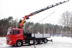 Camion benne MAN 35.480 PALFINGER PK 44002 G WINDE FUNK Seilwinde