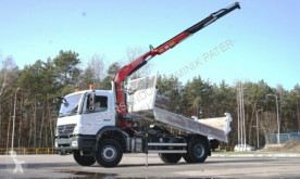 Mercedes plató teherautó AXOR 1829 FASSI 110 BORDMATIK KRAN CRAN