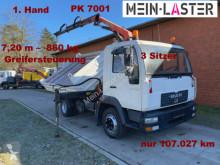 Camion MAN 8.180 Meiller PK7001 7,3 m-860 kg 5+6 St.kreis benă trilaterala second-hand
