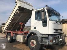 Camión volquete trilateral Iveco Eurotech 190E31
