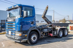Camión portacontenedores Scania 124G.420 - - 10 PNEUS / TIRES