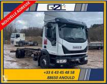 Camion Iveco Eurocargo 120-220 fourgon accidenté