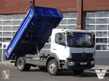 Mercedes three-way side tipper truck Atego 1524