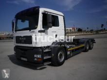 Camión MAN TGA furgón transporte de bebidas usado
