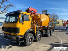 Camion Mercedes K 3335 7M3 - Pumi - Putzmeister 21M - Manual - Full steel béton malaxeur + pompe occasion