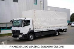 Camion Mercedes Atego Atego 1224L Pr.-Plane 7,2m LBW Klima AHK 3-Sitze centinato alla francese usato