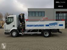Camión caja abierta teleros Renault Midlum Midlum 220 / HIAB 088 DUO / 3 Sitzen