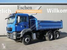 MAN TGS TGS 26.440 6x6BB Meiller-3S-Kipper*Klima*Manuel truck used three-way side tipper