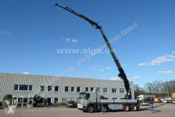 Camion plateau ridelles Volvo FM FM 480 8x4, Kran Effer 80N 5S Fly Jib, Seilwinde