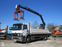 Mercedes Atego 1823 L Pritsche Heckkran Hiab102 truck used dropside