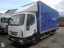 Teherautó Iveco Eurocargo 100 E 22 használt polcozható furgon