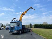 Scania standard flatbed truck R 124