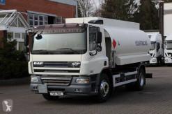 DAF CF75 DAF CF 75.310 Tankwagen Euro 5 truck used oil/fuel tanker