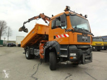 MAN TGA TGA 18.320 4x4 BL Terex 65-2 Greifer Meiller truck used three-way side tipper