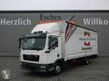 Camión lona corredera (tautliner) MAN TGL TGL 12.250 BL Pritsche, BÄR-LBW, Klima, 1.Hand!