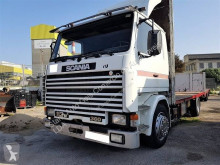 Camião Scania 113 360 estrado / caixa aberta estandar usado