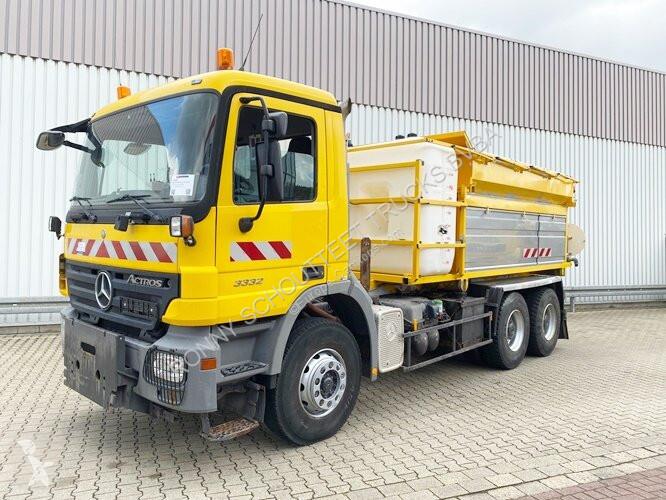 Vedere le foto Veicolo per la pulizia delle strade Mercedes Actros 3332 K 6x4  3332 K 6x4, Winterdienstausstattung