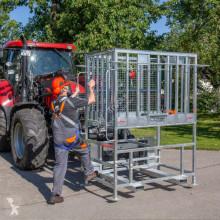Camion piattaforma aerea telescopica Fliegl Arbeitsbühne mit Erhöhung